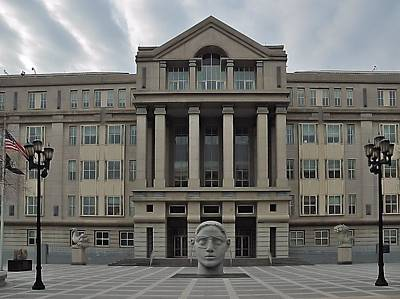 Photograph - United States Courthouse Newark Nj by Steven Richman