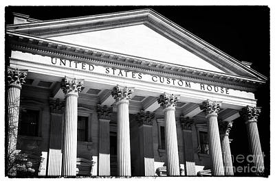 Photograph - United States Custom House by John Rizzuto
