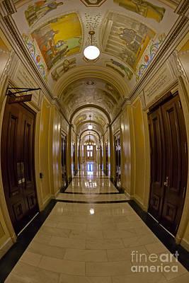 United States House Of Representatives Art Print