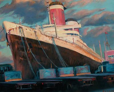 Philadelphia Scene Painting - United States II by Jesse Gardner
