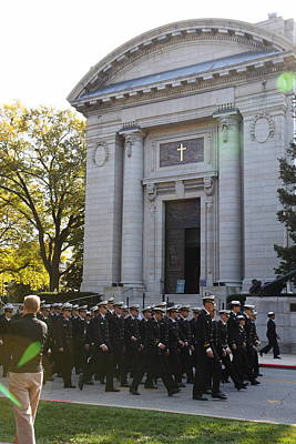 United States Naval Academy In Annapolis Md - 121237 Art Print by DC Photographer