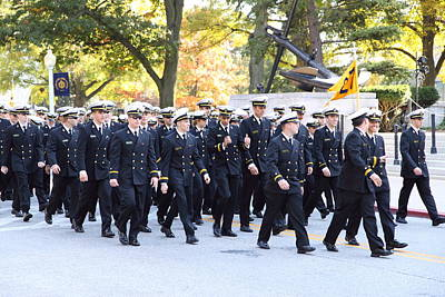 Sail Photograph - United States Naval Academy In Annapolis Md - 121241 by DC Photographer