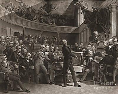 United States Senate 1850 Art Print