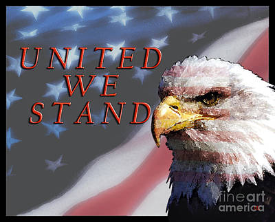 United We Stand Art Print by Lawrence Costales