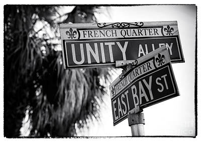 Photograph - Unity Alley by John Rizzuto