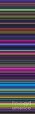 Panoramic Digital Art - Unity Of Colour 2 by Tim Gainey