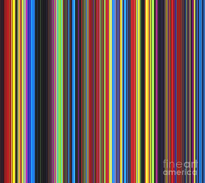 Multi Colored Digital Art - Unity Of Colour by Tim Gainey