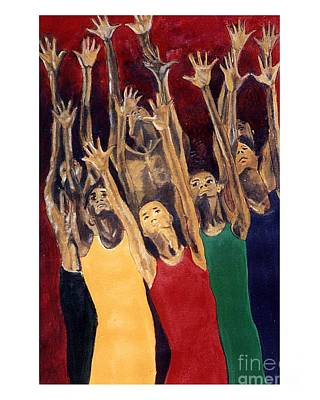 Unity Painting - Unity Of Praise by JackieO Kelley