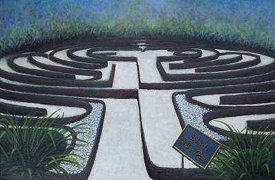 Unity Painting - Unity's Labyrinth by Kenneth Stockton