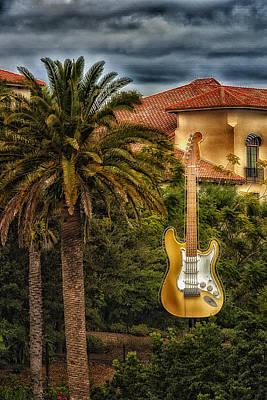 Universal Guitar Art Print