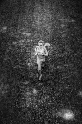 Photograph - Universal Jogger by Dave Beckerman