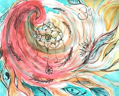 Lori Thompson Drawing - Universal by Lori Thompson