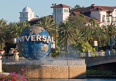 Photograph - Universal Studios Florida by John Black
