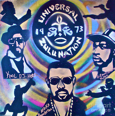 Tony B. Conscious Painting - Universal Zulu 1 by Tony B Conscious