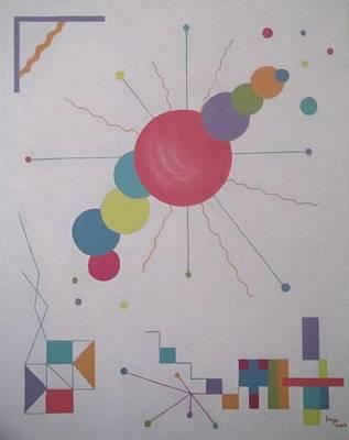 Painting - Universe 1 by Inge Lewis