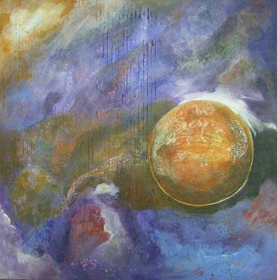 Mixed Media - Universe 4 by Riana Van Staden