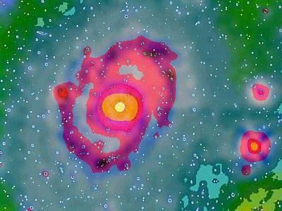 The Universe Painting - Universe by Carol Bono