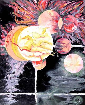 The Universe Painting - Universe by Daniel Janda