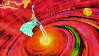 Rossidis Painting - Universe by George Rossidis