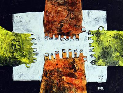 Universi No. 10  Original by Mark M  Mellon