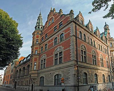 Photograph - Universitet Lund Se 10 by Jeff Brunton