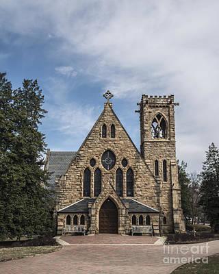 University Of Virginia Photograph - University Chapel by Terry Rowe