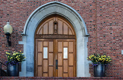 Photograph - University Doors by Tikvah's Hope