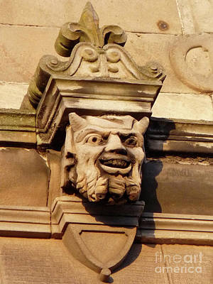 Photograph - University Gargoyle by Deborah Smolinske
