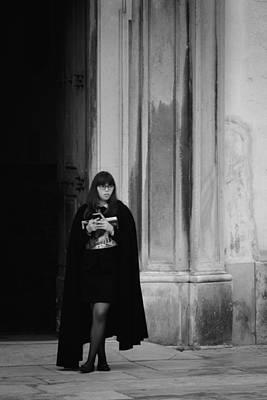 Photograph - University Girl by Pablo Lopez