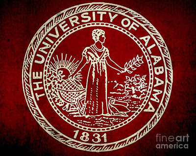 University Of Alabama Art Print by Scott Karan