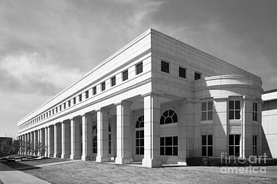 University Of Arkansas Photograph - University Of Arkansas Mullins Library by University Icons