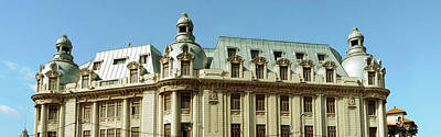 Bucharest Photograph - University Of Bucharest, Bucharest by Panoramic Images