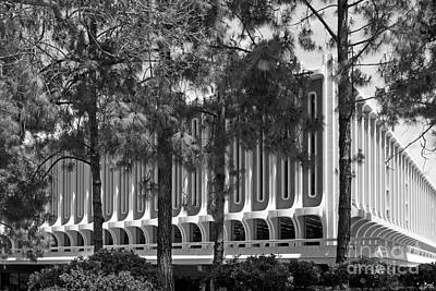 Uc California Photograph - University Of California Irvine Langson Library by University Icons
