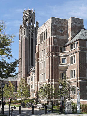 Mba Photograph - University Of Chicago Saieh Hall by Jannis Werner
