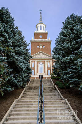 Of Stairs Photograph - University Of Cincinnati Mcmicken Hall by Paul Velgos