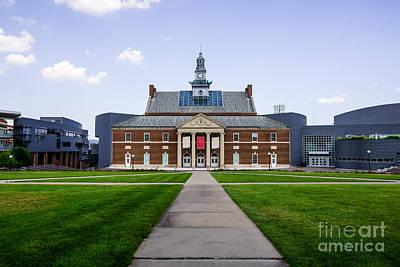 Midwest Photograph - University Of Cincinnati Tangeman University Center  by Paul Velgos