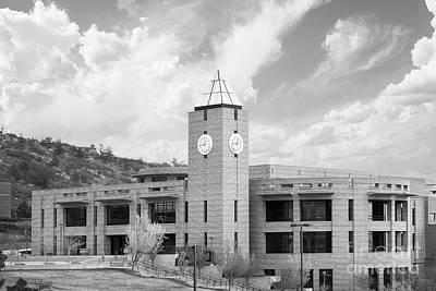 University Of Colorado Colorado Springs El Pomar Center Art Print by University Icons