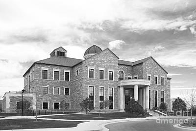 University Of Boulder Colorado Photograph - University Of Colorado Koelbel Building by University Icons