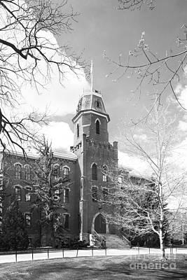 University Of Boulder Colorado Photograph - University Of Colorado Old Main by University Icons