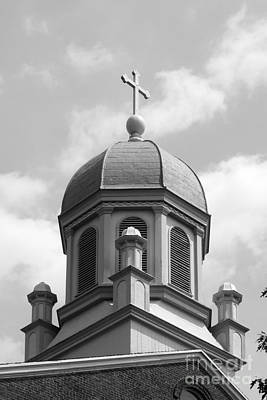 Diploma Photograph - University Of Dayton Chapel by University Icons