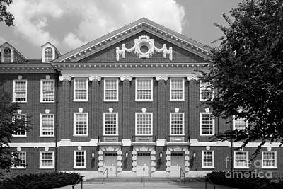 Biden Photograph - University Of Delaware Wolf Hall by University Icons