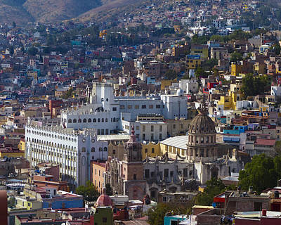 University Of Guanajuato Art Print by Douglas J Fisher