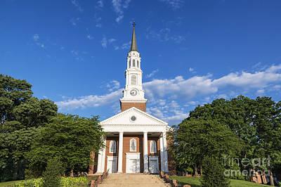 University Of Maryland Photograph - University Of Maryland Chapel by John Greim