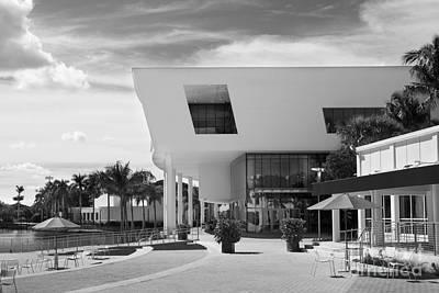 University Of Miami Weeks Center Art Print by University Icons