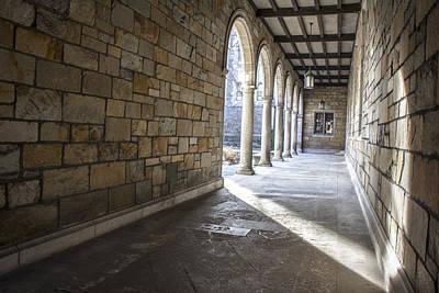 Photograph - University Of Michigan Walkway by John McGraw