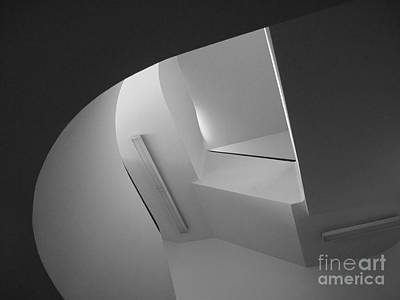 University Of Minnesota Stairwell Art Print