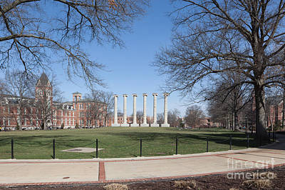 Photograph - University Of Missouri Quad by Kay Pickens