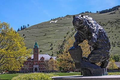 University Of Montana 6 Art Print by Keith R Crowley