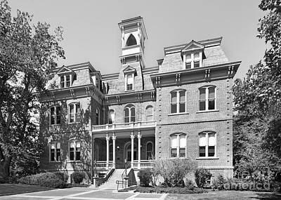 University Of Nevada Reno - Morrill Hall Art Print by University Icons