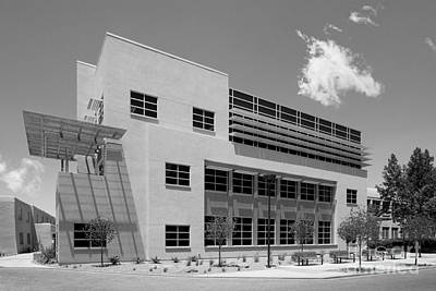 Photograph - University Of New Mexico Castetter Hall by University Icons